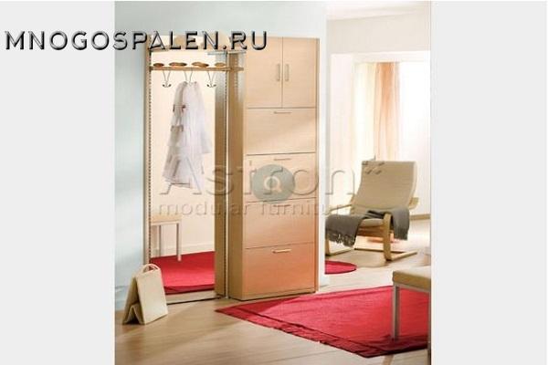 Прихожая в современном стиле Ka009 Astron купить в салоне-студии мебели Барселона mnogospalen.ru много спален мебель Италии классические современные