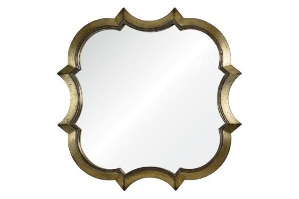 Зеркало Krystal А88015-3 античное серебро купить в салоне-студии мебели Барселона mnogospalen.ru много спален мебель Италии классические современные